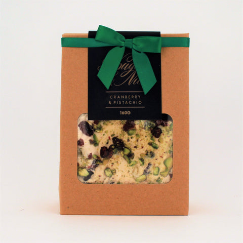 Nougat and Nice Cranberry Pistachio Gift Box 160g