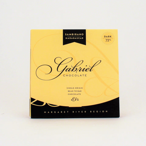 Gabriel Chocolate Madagascar 72% Dark 85g