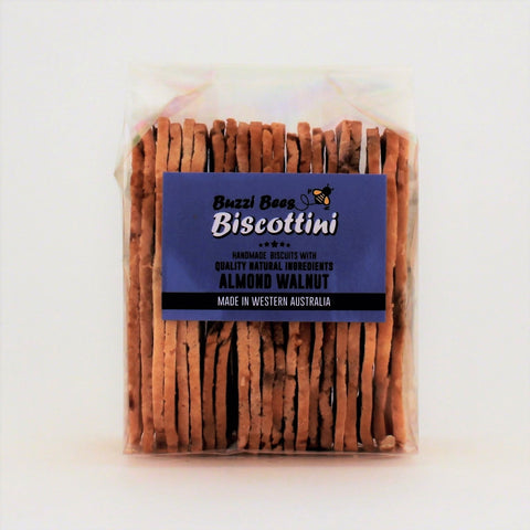 Buzzi Bees Biscottini Almond and Walnut 150g