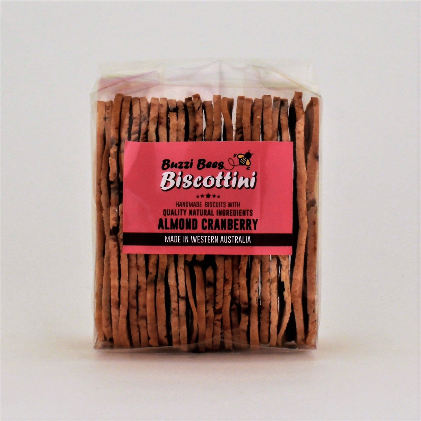 Buzzi Bees Biscottini Almond and Cranberry 150g