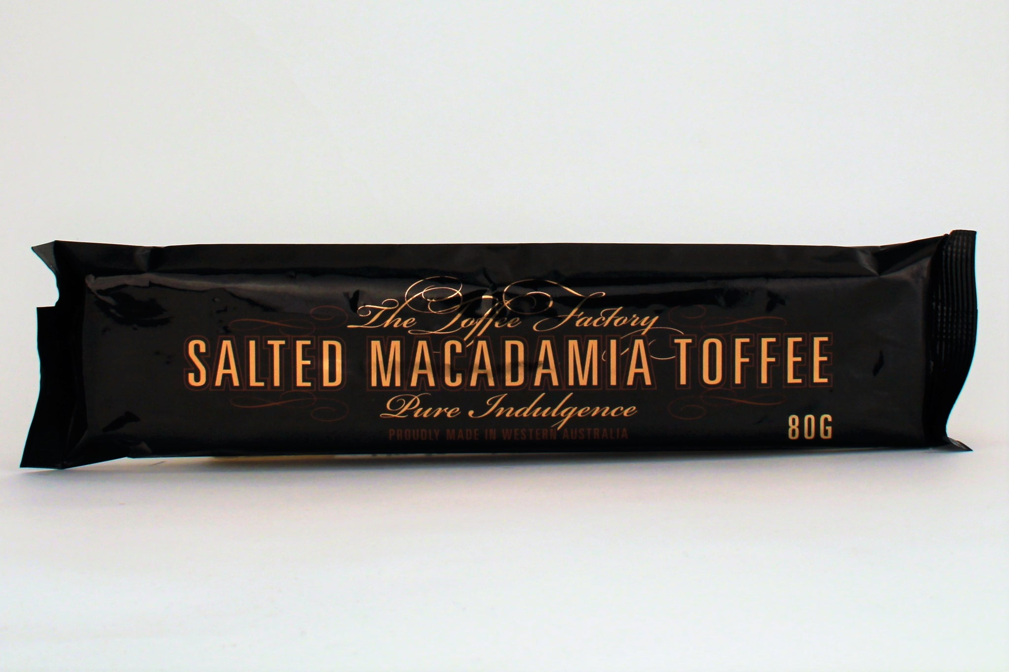The Toffee Factory Salted Macadamia Toffee 80g