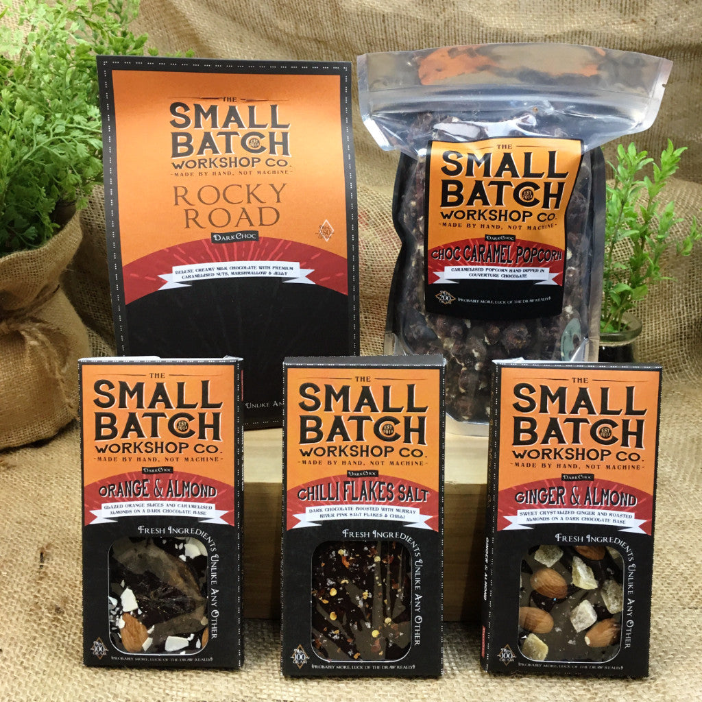 Small Batch Co Dark Chocolate Collection