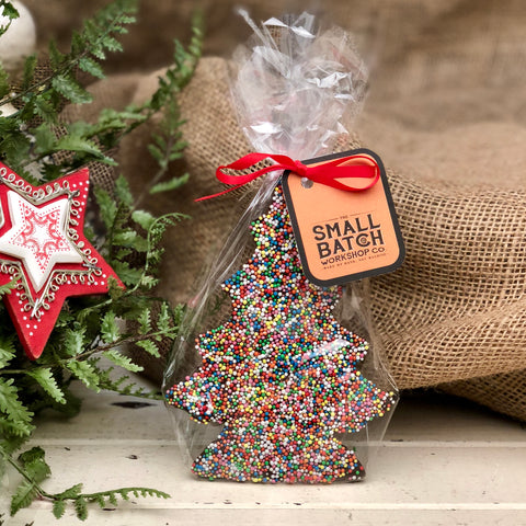 Small Batch Co Chocolate Christmas Tree