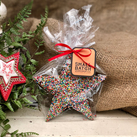 Small Batch Co Chocolate Christmas Star