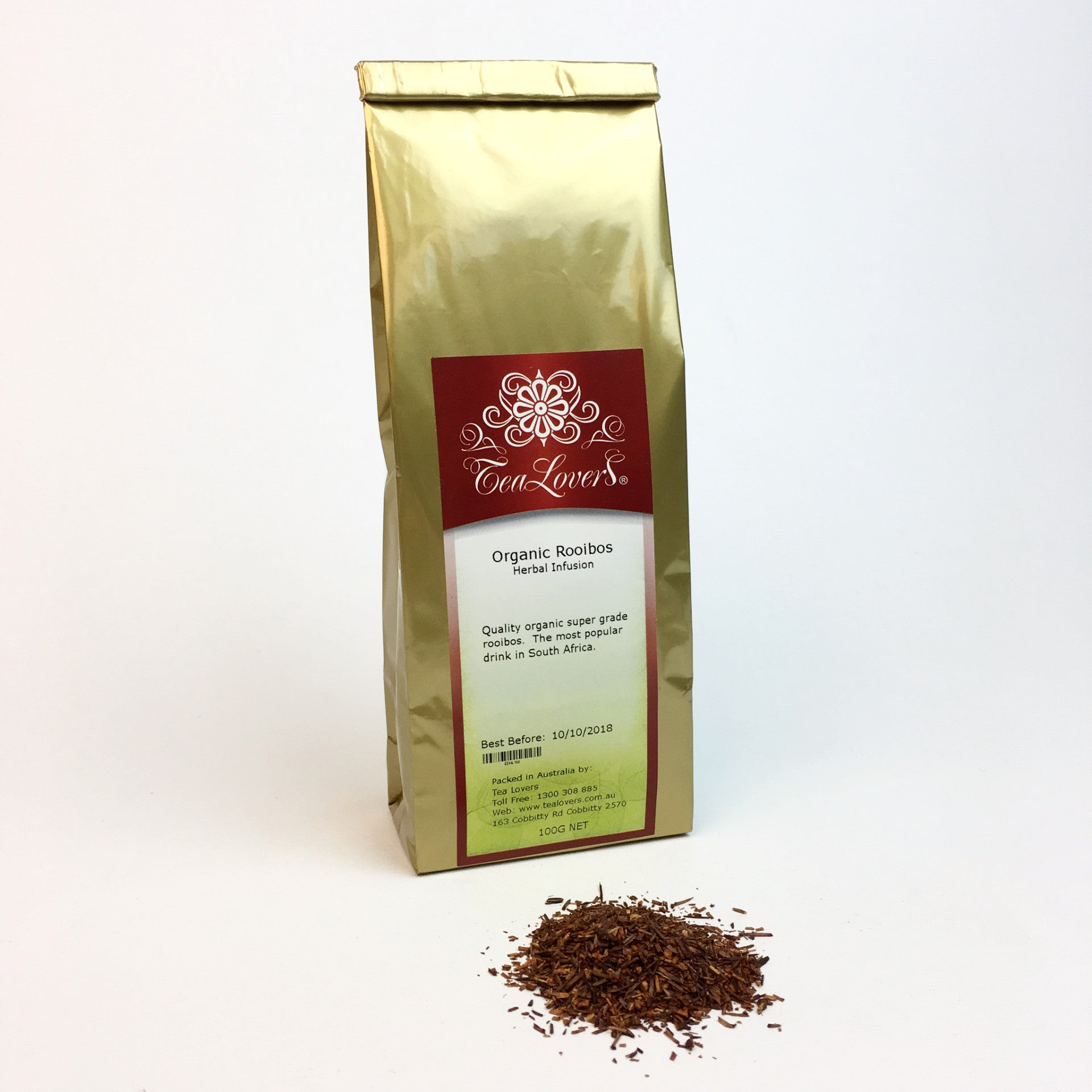 Tea Lovers Rooibos Super Grade (Organic)