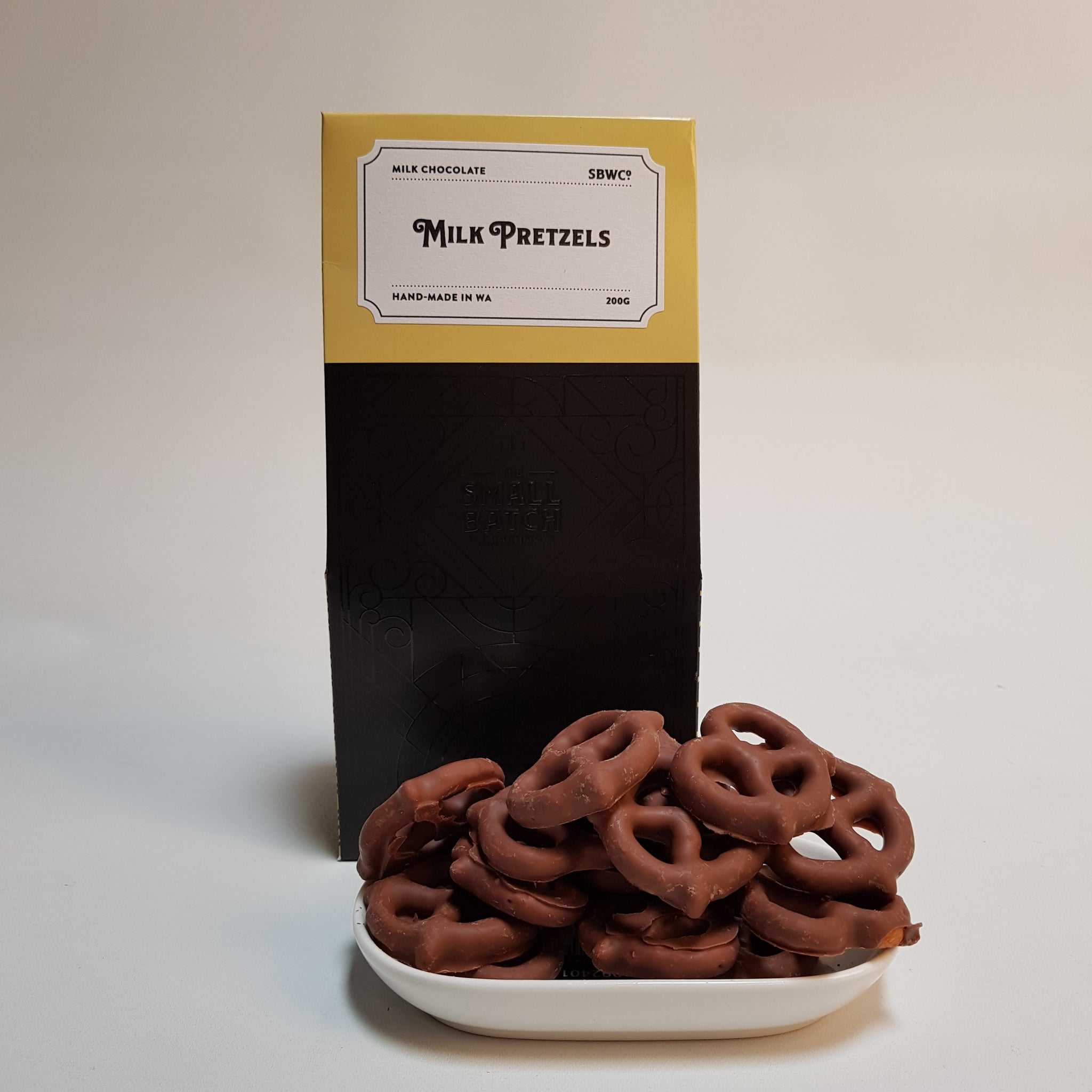 Small Batch Co Milk Pretzels 200g
