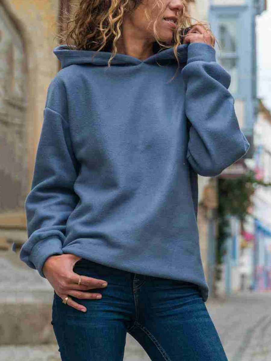 Autumn And Winter Fashion Jumpsuit Long Sleeve Pullover Hoodie