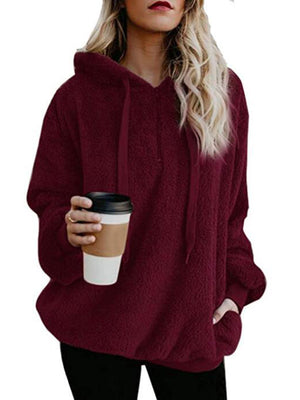 Solid Colors Long sleeve Hoodies