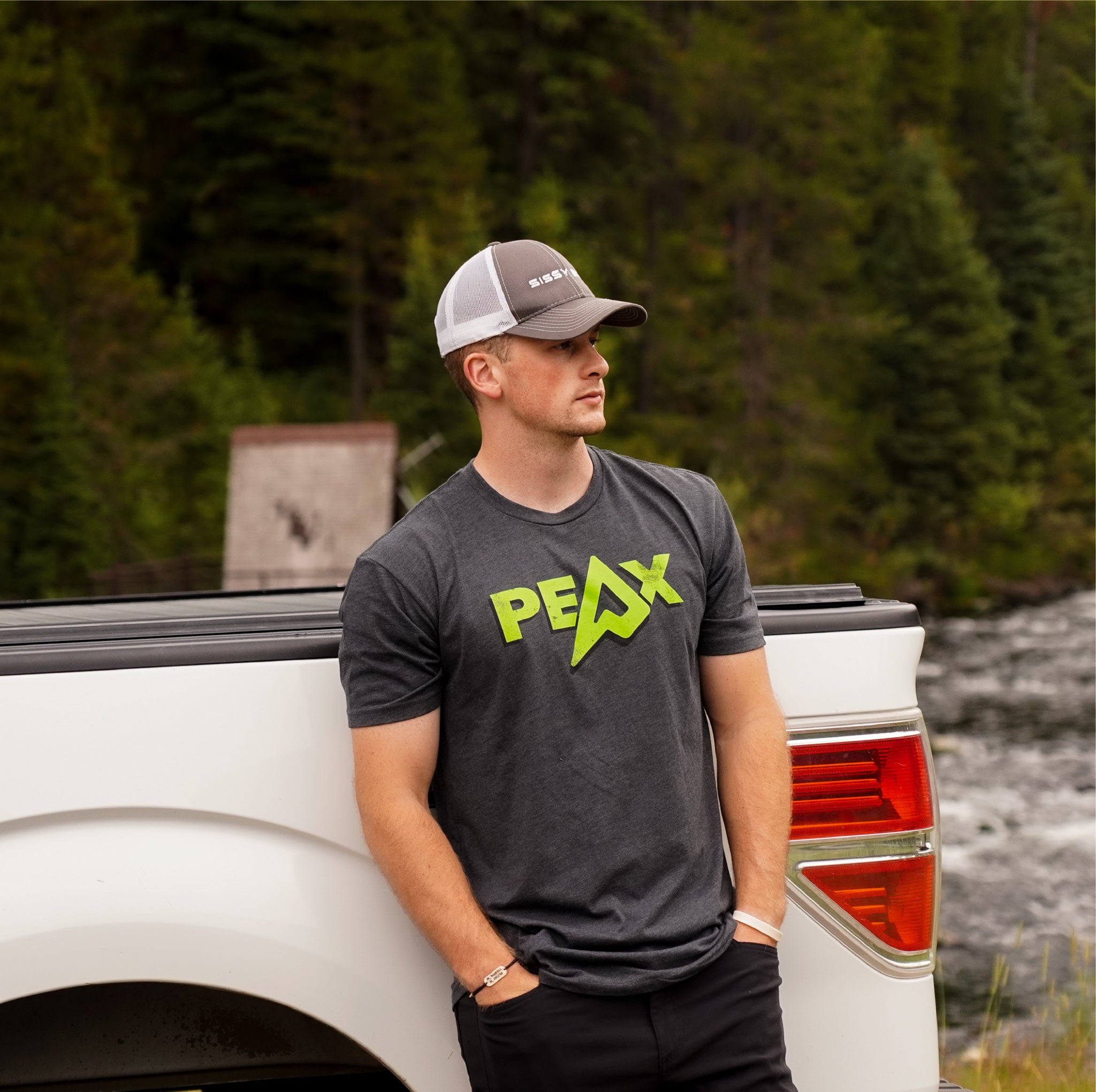 PEAX ICON TEE (Grey)