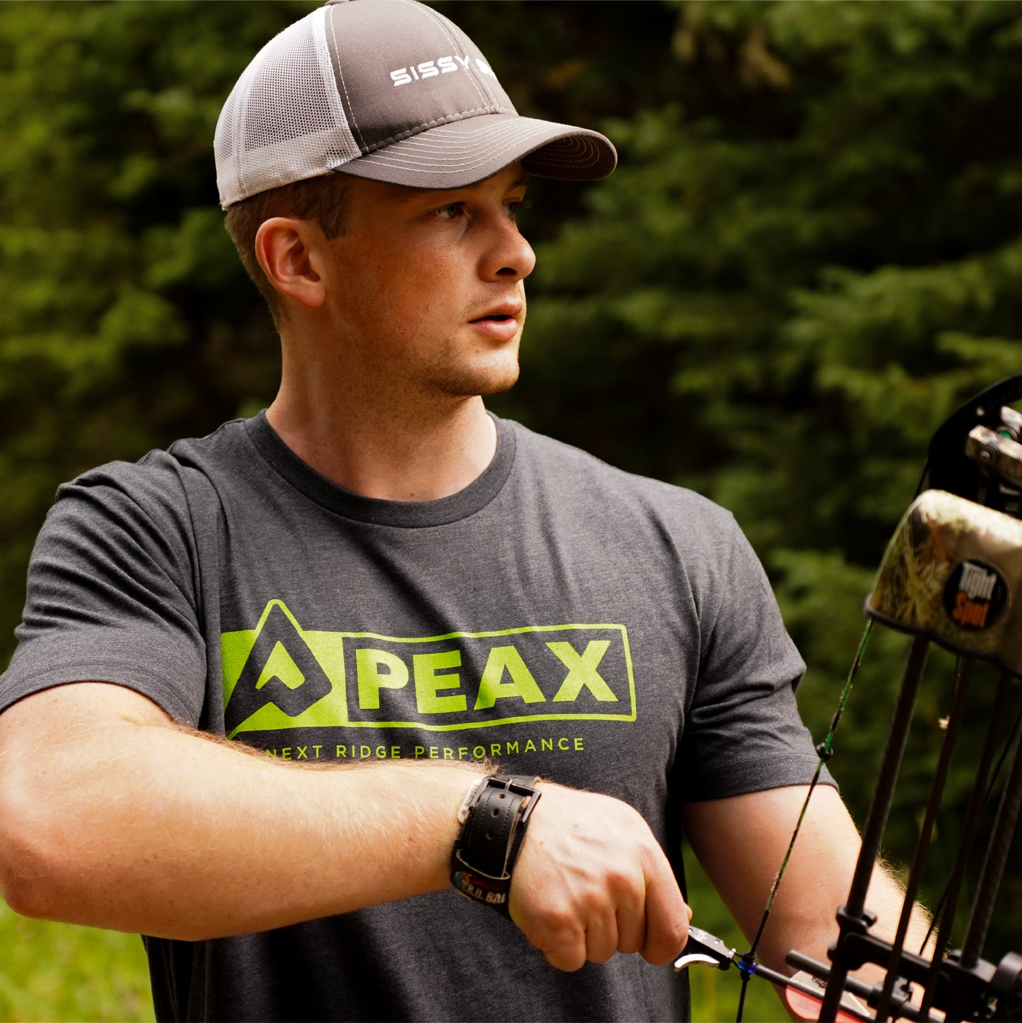 PEAX PERFORMANCE TEE (Grey)