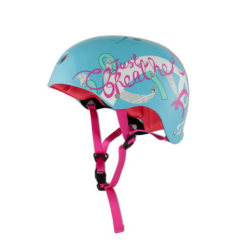 Ribbon Crash Helmet