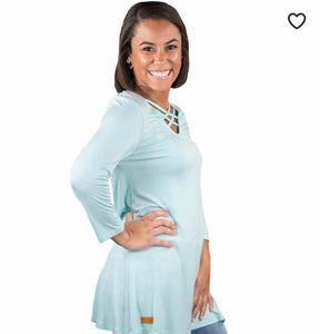 Simply Southern Criss Cross Tunic