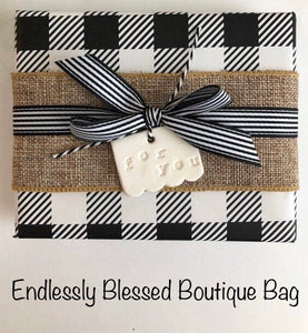 $65 Endlessly Blessed Boutique Bag