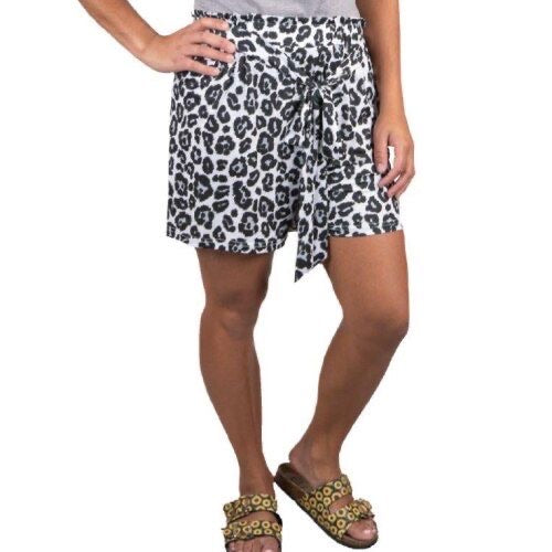 Simply Southern Snow Leopard Shorts