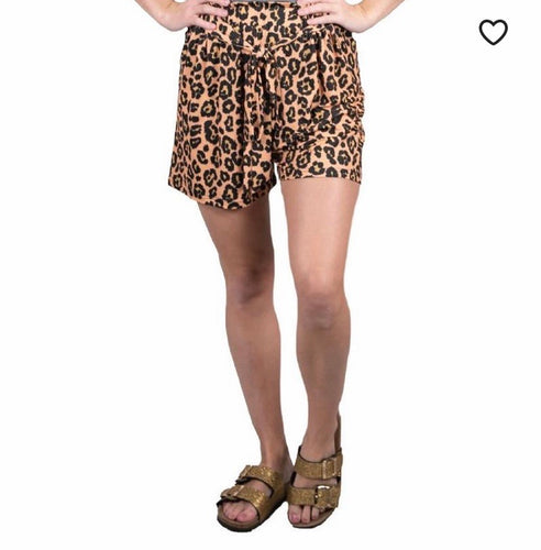 Simply Southern Leopard Shorts
