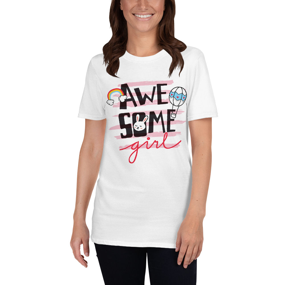 'Awe Some' Short-Sleeve Unisex T-Shirt