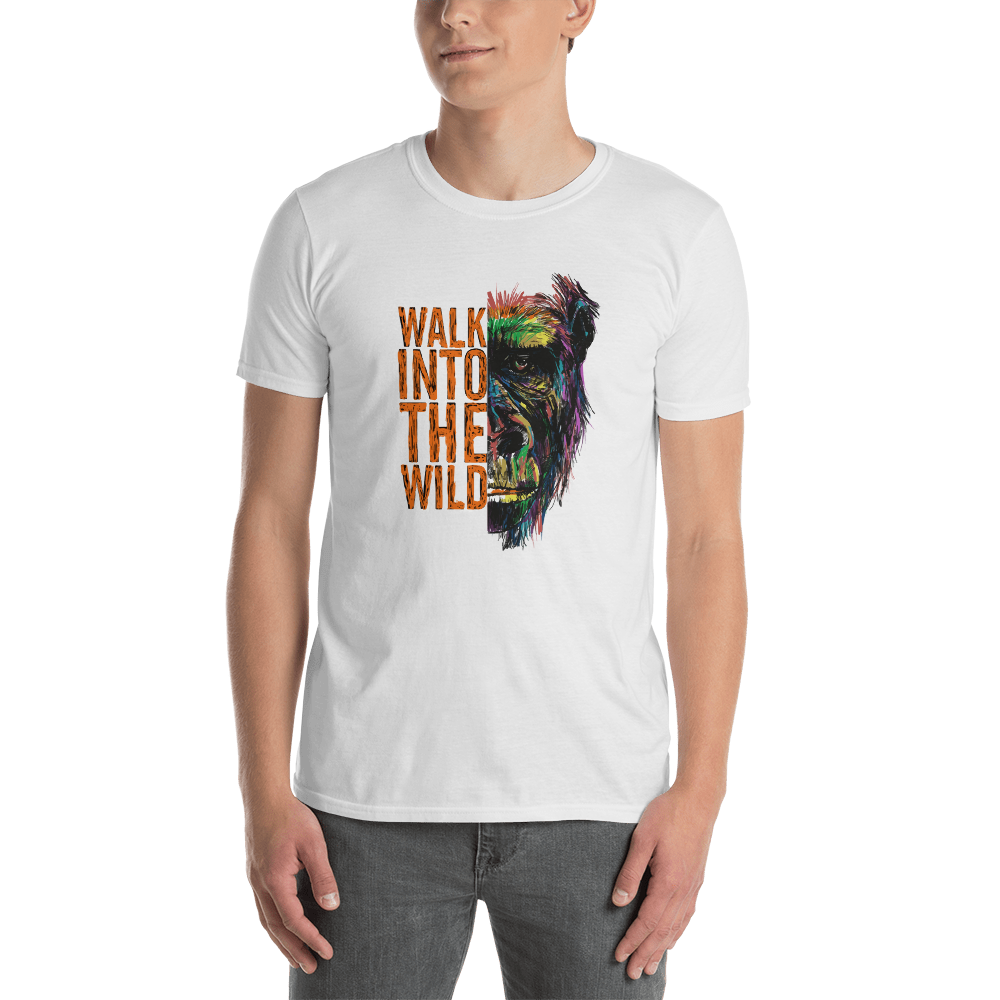 'Walk into the wils' Short-Sleeve Unisex T-Shirt