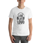 'Live Life Loud Hock'N'Roll ' Short-Sleeve Unisex T-Shirt