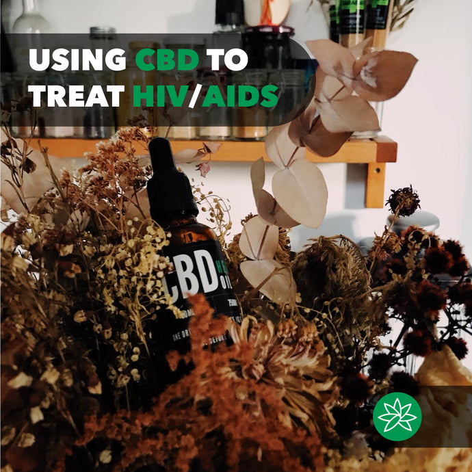 Using CBD to treat HIV/AIDS.