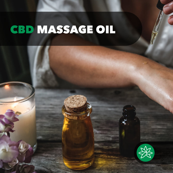 GWEEPRODUCTS CBD Massage Oil.
