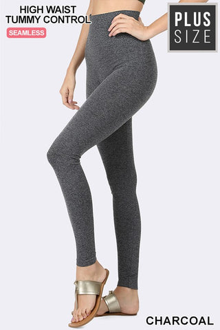 Fleece Leggings PLUS: Multi