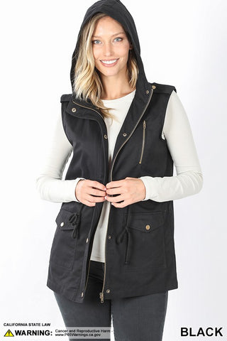 Ready for Adventure Vest: Black