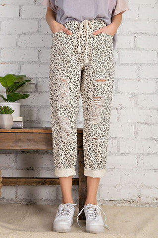 Safari Slouch Pants: Ivory