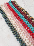 New Crystal Beaded Necklaces 60""