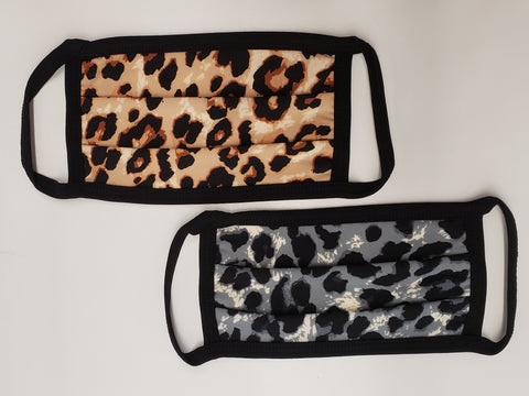 Leopard Masks: Multi