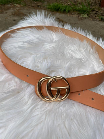 GO Inspired Belt: Clay