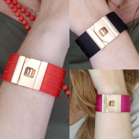 Buckle Up Bracelet: Multi