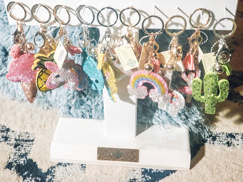 Bling KeyChains : Multi