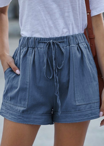 Wear Ever Shorts: Blue