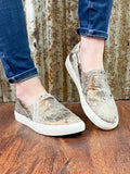 Pine Top Sneakers: Bronze Metallic