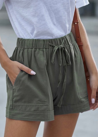 Wear Ever Shorts: Green