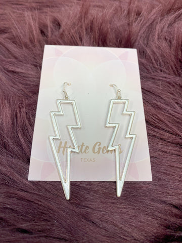 Boltz Platinum Earrings