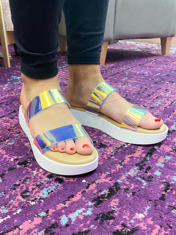 Paddle Board Sandals: Iridescent