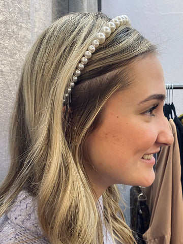Queenie Pearl Headband