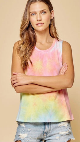 Road Trip TieDye Tank PLUS