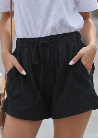 Wear Ever Shorts: Black