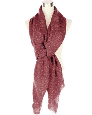Warm & Cozy Scarf: Burgundy
