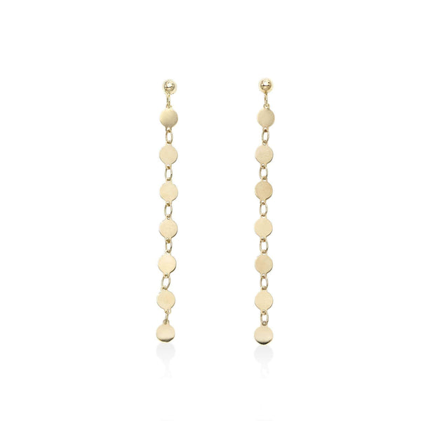 Giorgio Bergamo Earrings 14kt Gold Multi Link Drop Earring MER8937