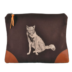 Burghley Large Envelope with Fox Design