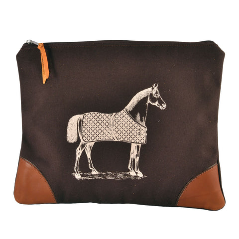 Rebecca Ray Designs - Burghley Large Envelope with Horse Design - Envelope - Made in America