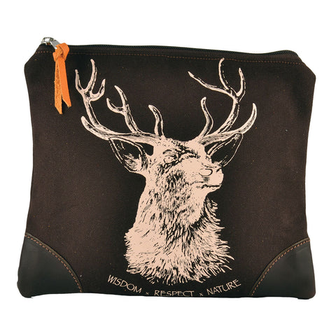 Rebecca Ray Designs - Burghley Medium Envelope with Stag Design - Closeout - Made in America