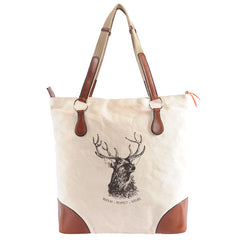 Burghley Tote with Stag Design