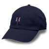 HJ Logo Unstructured Washed Twill Cap