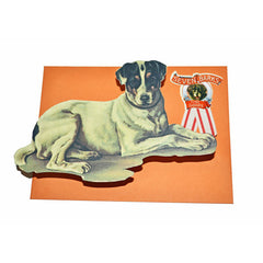 Jack Russell Die Cut Correspondence Cards by Seven Barks
