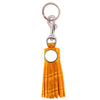 Croc Tassel Key Ring - Orange
