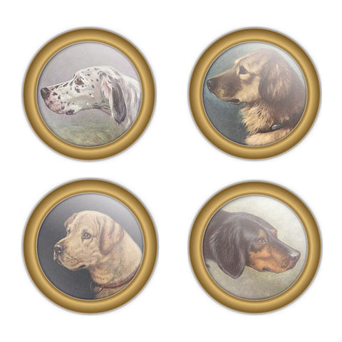 Canine Full Color Coaster Set by Seven Barks